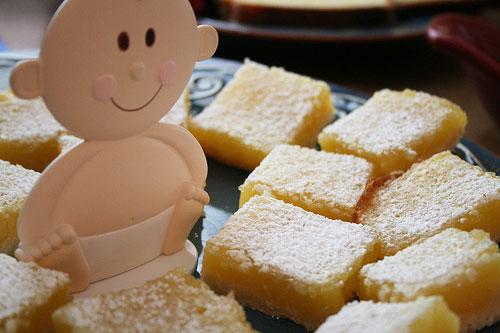 Creamy Lemon Bars recipe - 106 calories